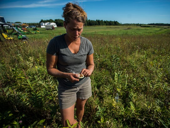Heather Darby, a University of Vermont Extension agronomist