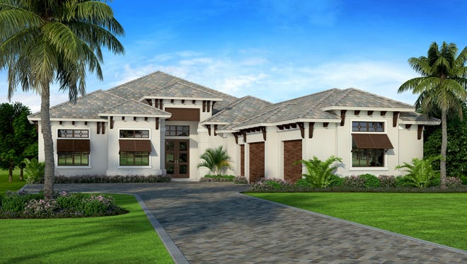 Harbourside has started construction of a 3,972-square-footunfurnished San Michele residence in Corsica at Talis Park priced at $2.65 million.