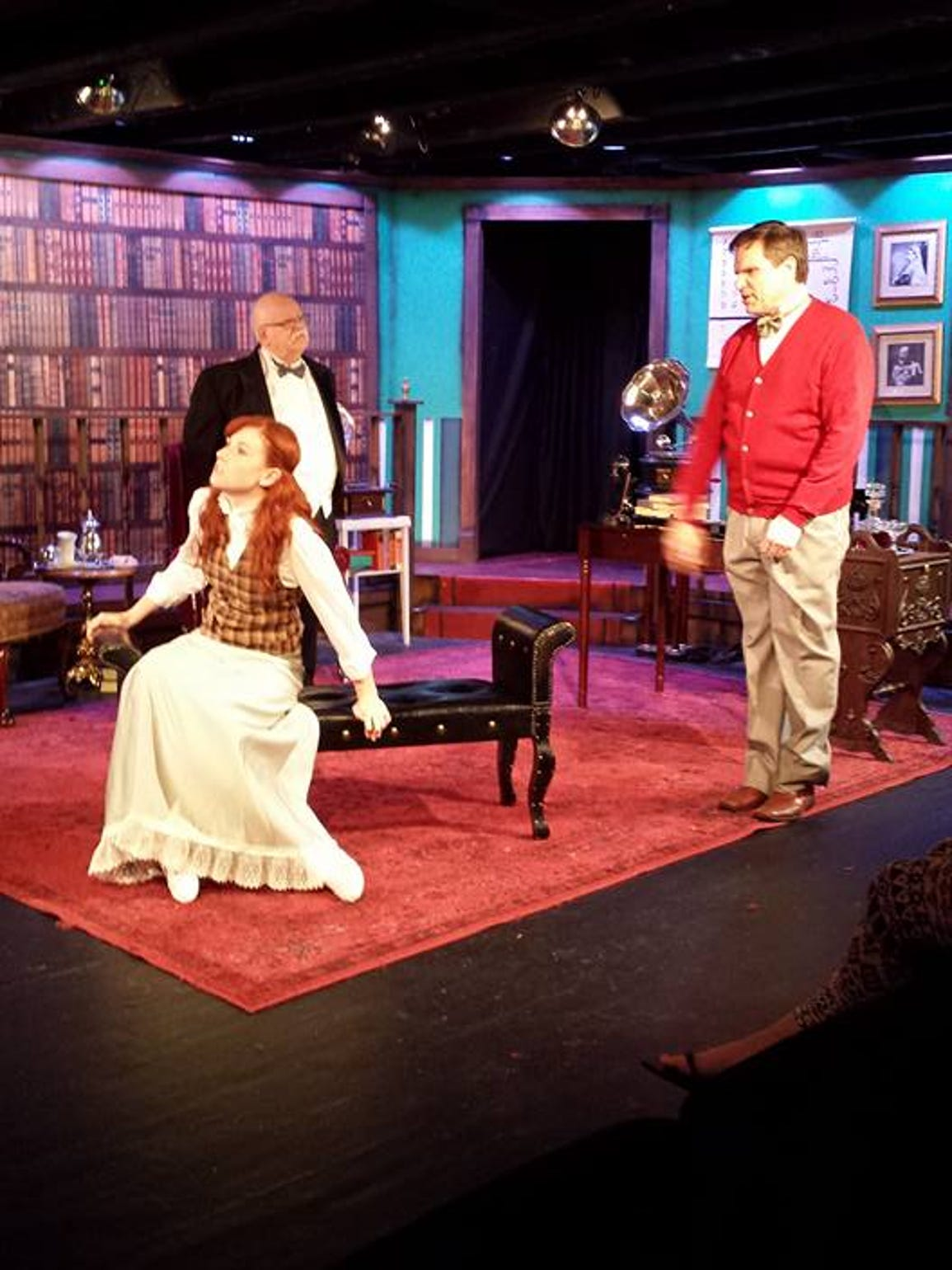 'My Fair Lady' on stage at Murfreesboro Little Theatre.