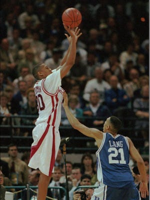 Scotty Thurman during the 1994 championship game against Duke