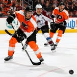 In his first season in Philadelphia, Michael Del Zotto had 10 goals and 22 assists in 64 games.