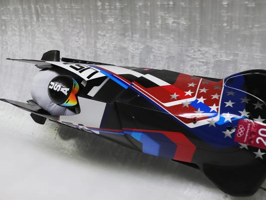 Bobsleigh - Winter Olympics Day 9