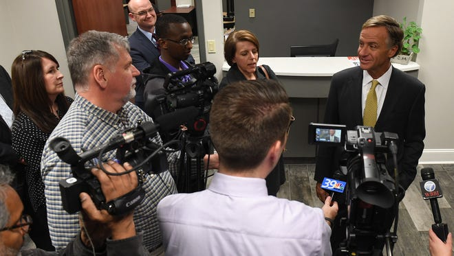 The Jackson Chamber hosted the Southwest Tennessee Reconnect Community Launch Event, Thursday, Feb. 1. Tennessee Governor Bill Haslam, who attended the event, spoke about the importance of higher education.