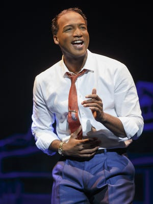 """Clifton Oliver as Berry Gordy Jr. in """"Motown: The Musical."""""""