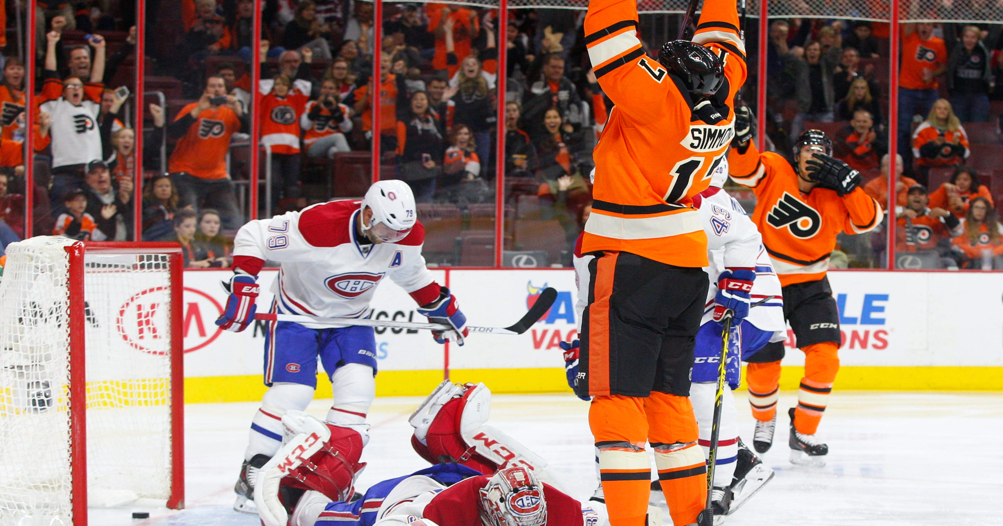 Canadiens top Flyers 4-3 in shootout 468b9f805