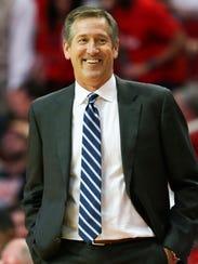 Knicks head coach Jeff Hornacek.