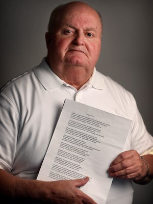 Retired Lebanon City Police Captain Richard Heverling put the pen to the pad as an avid writer of poetry.