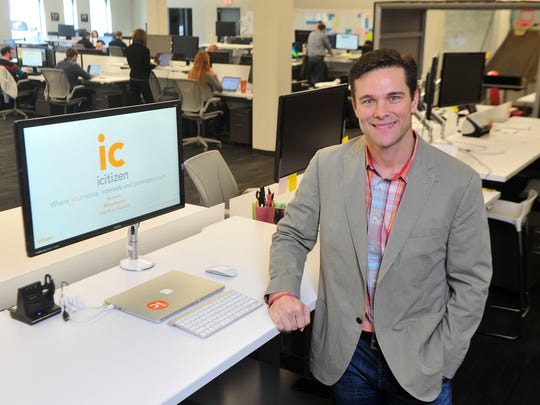 Russell P. Reeder is chief executive officer of icitizen.