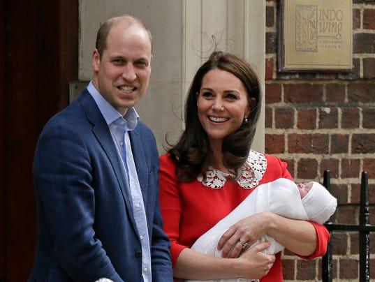 AP BRITAIN ROYAL BABY I ENT GBR