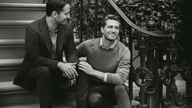 This image is being used in Tiffany's first ad featuring a same-sex couple.