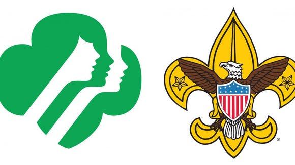 Scout logos.