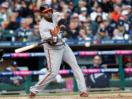 ALDS Orioles Tigers Baseball