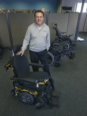 Monroe Wheelchair President and CEO Doug Westerdahl has won the Rochester Top Workplaces Leadership Award.