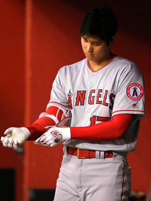 The Angels said Shohei Ohtani had an MRI on Wednesday in Texas that revealed the problem in his ulnar collateral ligament.