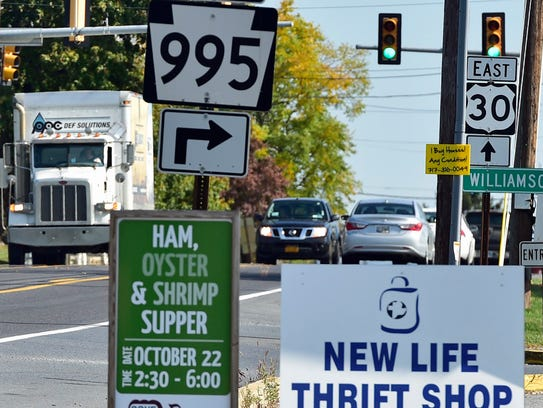Walmart had dropped plans for a second supercenter in the Chambersburg area.