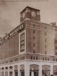 The warehouse was built in 1928, and was designed by