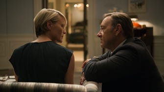"""Robin Wright and Kevin Spacey in Season 3 of Netflix's """"House of Cards."""""""