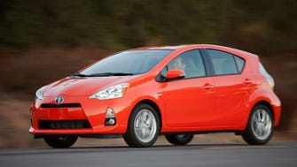 Toyota's Prius C is one of the models that have seen big price drops as a used car