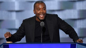Lee Daniels speaks about gun violence during the 2016 Democratic National Convention.