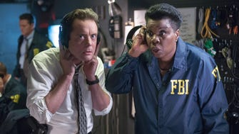 "Funny people Jon Daly  and  Leslie Jones star in the heist comedy ""Masterminds."""