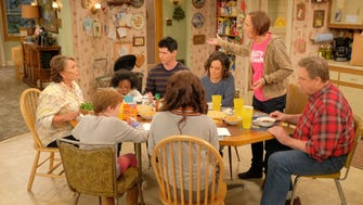 """The kitchen and most of the people are familiar, if a little older, and there are new members of the Conner family in ABC's revival of hit comedy """"Roseanne."""""""