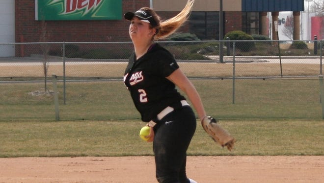Windsor graduate Sarah Barger has helped Hastings College qualify for the NAIA Division I softball national tournament.