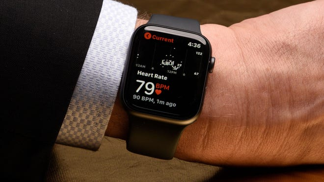 A Holland man has found a new love for his Apple Watch after the device alerted him to a heart condition he didn't know he had.