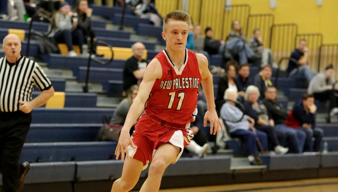 New Palestine's Max Gizzi is coming off a standout sophomore season.
