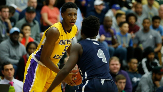 Canadian R.J. Barrett is one of the top prospects in the 2019 class.