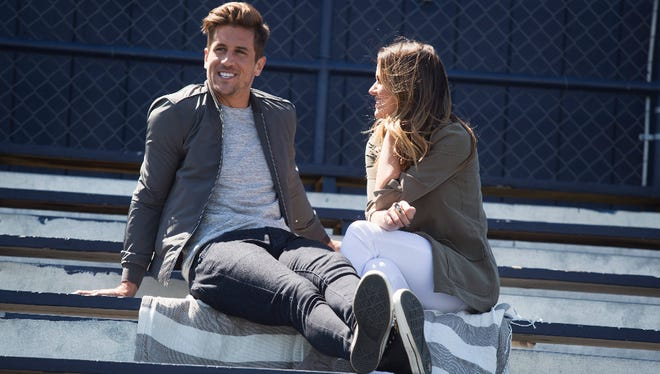 ABC's 'The Bachelorette' was the top TV show on Twitter and Facebook Monday, according to Nielsen, which will begin tracking combined social activity of the two social networks.