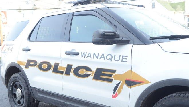 A Wanaque police car.