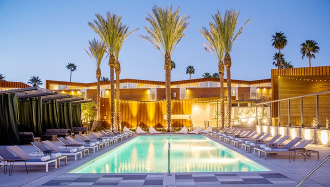 Palm Springs is getting new hip boutique hotels such as ARRIVE.