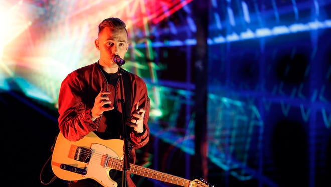 """Hunter Plake, who lives in Lafayette, seeks to advance to next week's finals on """"The Voice."""""""