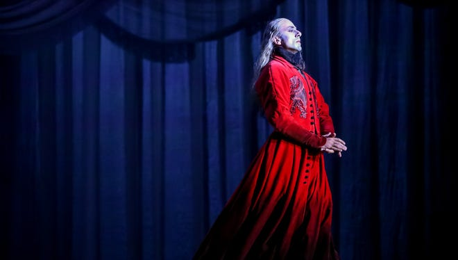 """The Milwaukee Ballet will revive Michael Pink's """"Dracula"""" to open its 2018-'19 season. Davit Hovhannisyan is seen here in the title role during a past production."""