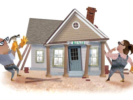 Deconstructing a dream home