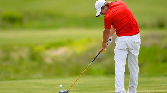 Louisiana Tech junior golfer Victor Lange finished at 1-under in the opening round of the NCAA Regionals on Thursday.
