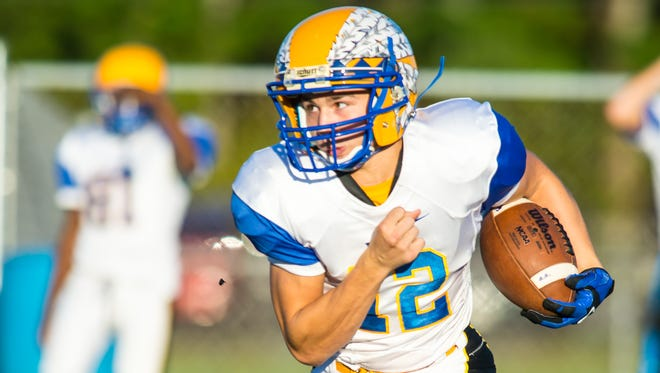 Wicomico quarterback Jason Patterson is back to lead the Indians offense in 2016. As a senior, he'll be orchestrating Brian Hanson's triple-option system.