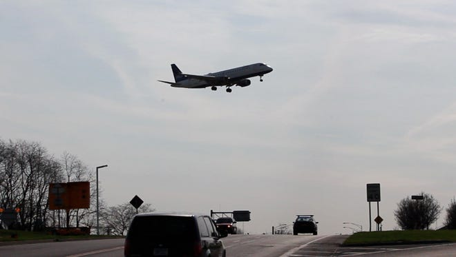 A Jet Blue airlines lands at Rochester International Airport. The airport has built a good record of avoiding close calls between aircraft.