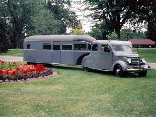Check out vintage trailers and motor coaches Saturday at the Tin Can Tourists open house at Camp Dearborn.