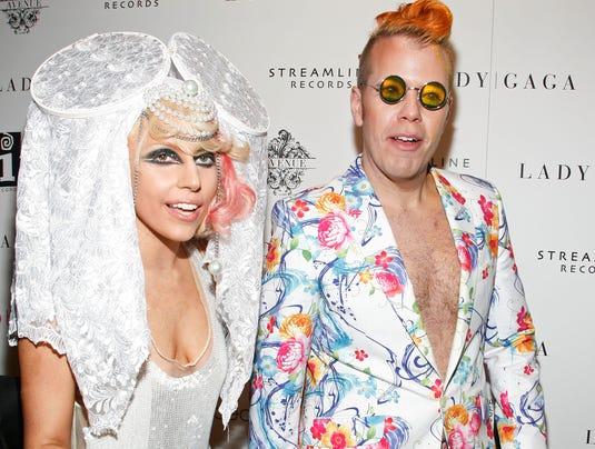 lqady Gaga and Perez Hilton