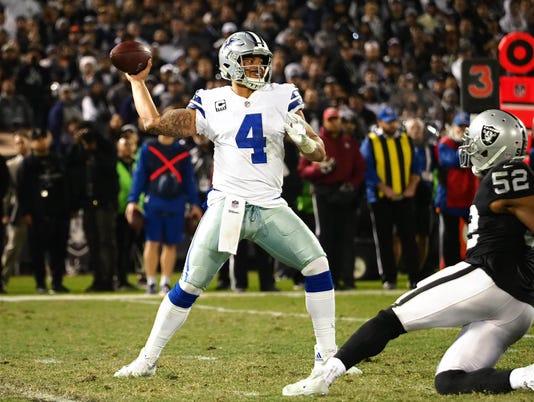 NFL: Dallas Cowboys at Oakland Raiders