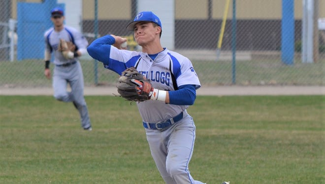 Lakeview graduate Gavin Homer is an infielder for nationally-ranked Kellogg Community College and will play at Penn State next year.