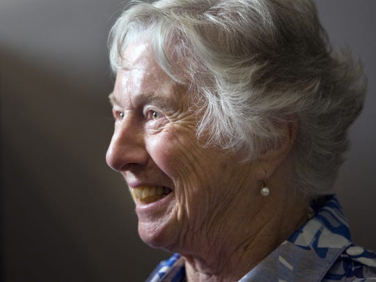June Peterson, widow of former Gov. Russell Peterson,