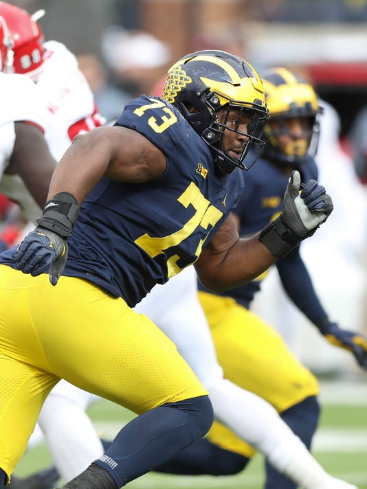 fcd86e487 NFL draft  Raiders take Michigan s Maurice Hurst in fifth round