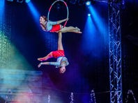 Cirque Italia will be presented Friday through Sunday in the Haywood Mall parking lot.