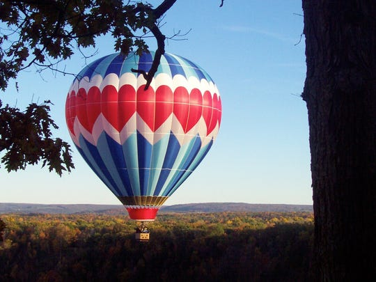 The Red, White and Blue Balloon Rally runs from Friday, May 27, through Monday, May 30, at Letchworth State Park.
