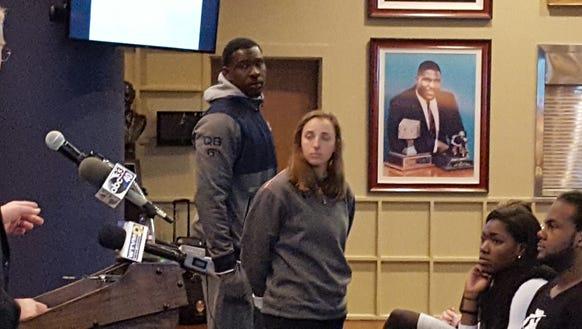 Auburn athletic director Jay Jacobs acknowledged quarterback