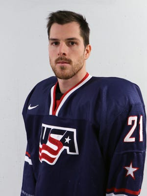Bobby Sanguinetti will represent the U.S. in next month's Olympics in South Korea.