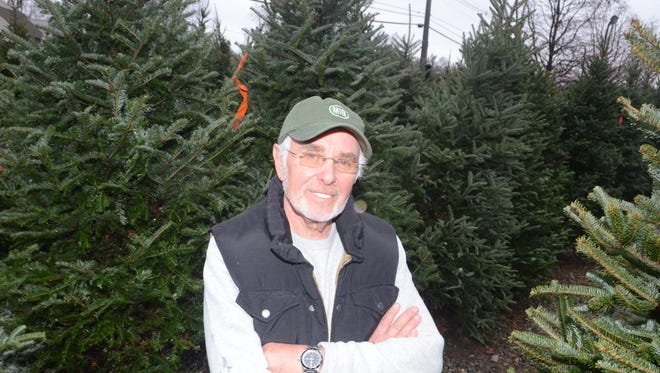 Bob Steiner , owner of Max is back sold 6,800 Christmas trees last year.