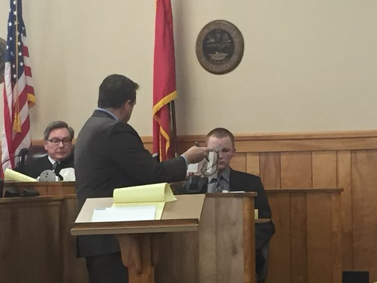 During cross examination, District Attorney General